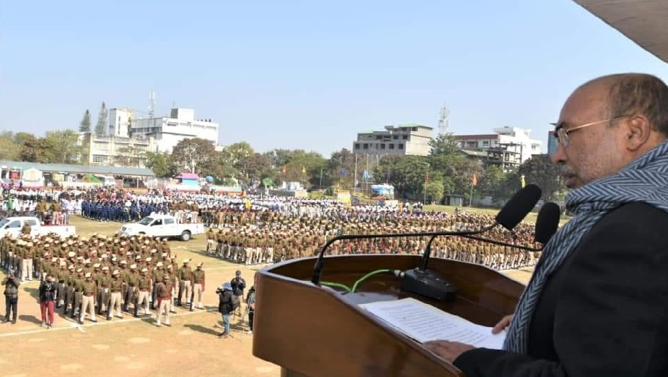 State celebrates 71st R-Day amidst militant boycott Unity can be brought only when every community shares equal development and opportunities: CM