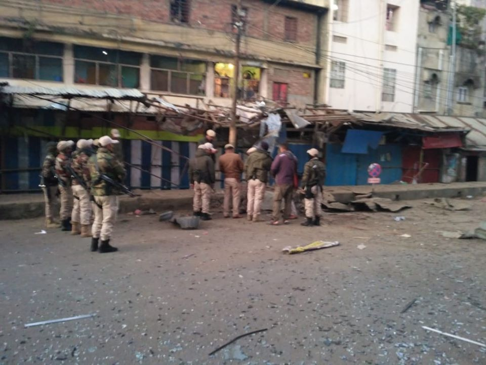 Powerful IED rocks city hours before R-Day parade rehearsal