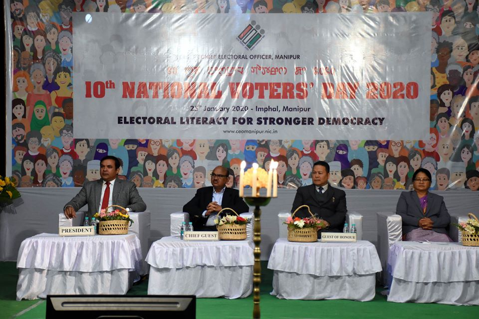 10th National Voter's Day 2020 Observed Youths should Pledge to make Family Members to Cast their Vote: Chief Secretary