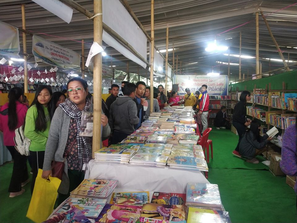 The 28th Imphal Book Fair, 2019 ends