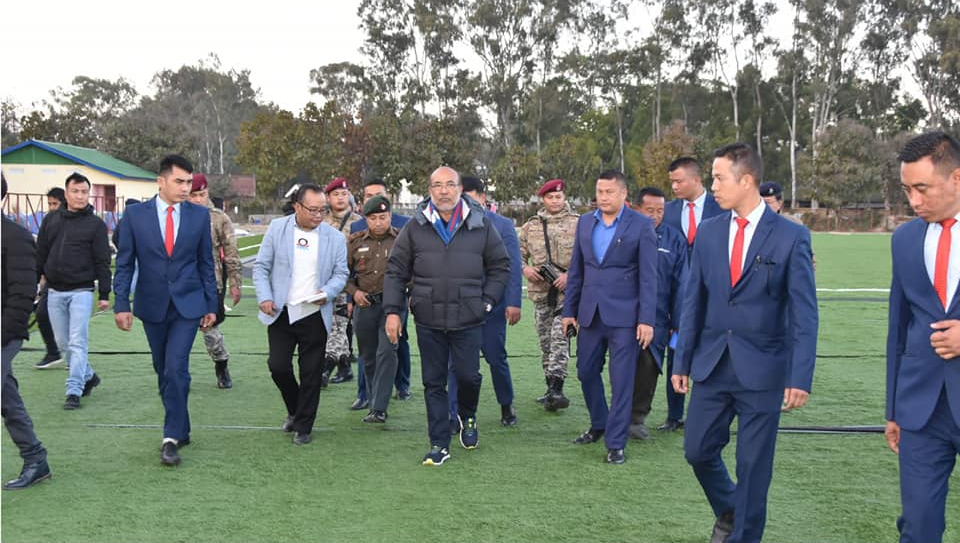 CM inspects construction of sports infrastructures