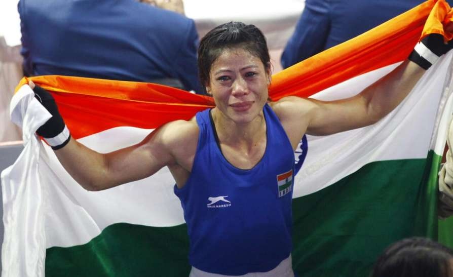 Indian Boxer from Manipur, M.C. Mary Kom has been awarded Padma Vibhushan, the second-highest civilian award of the Republic of India.