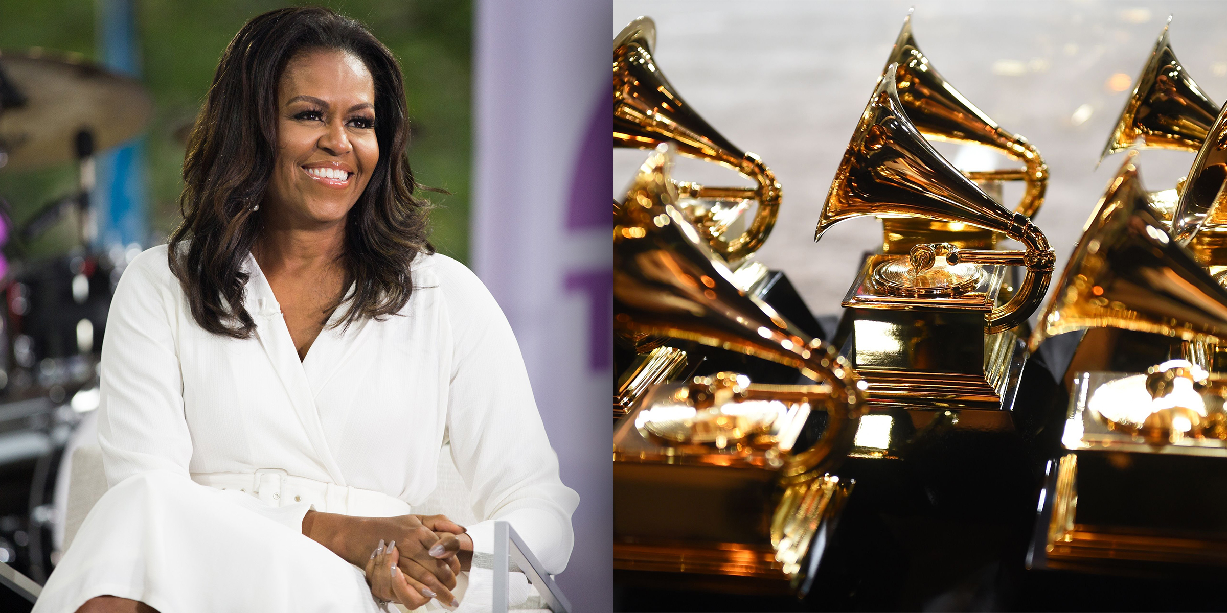 Michelle Obama wins Grammy for Becoming audio book