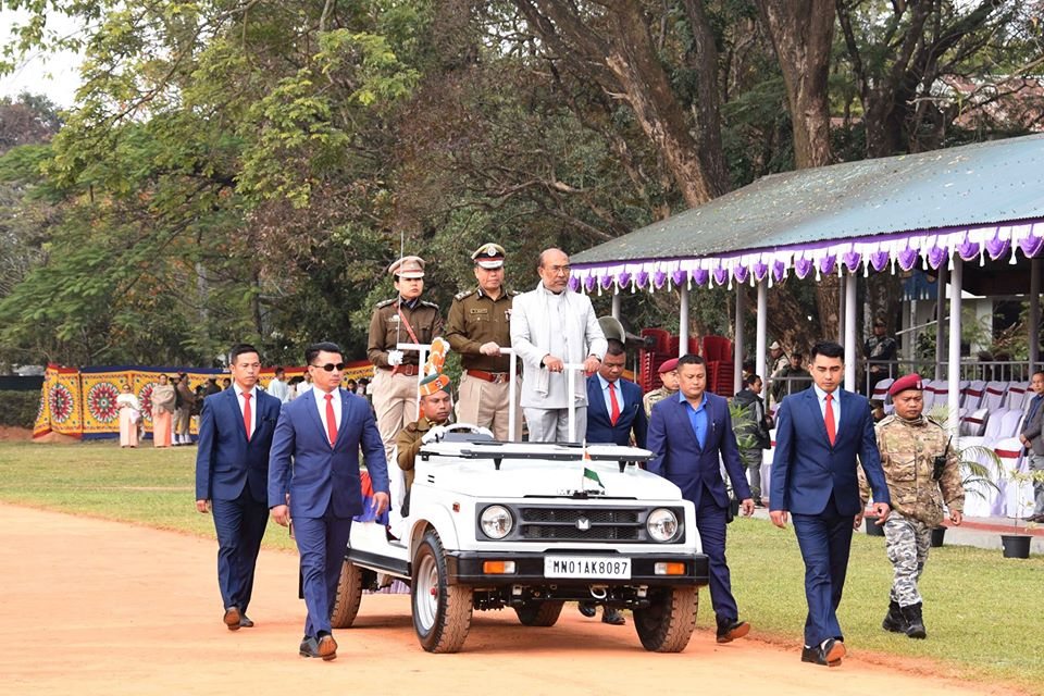Manipur Celebrates Statehood Day Government working on making Manipur self-reliant state in food production: Biren