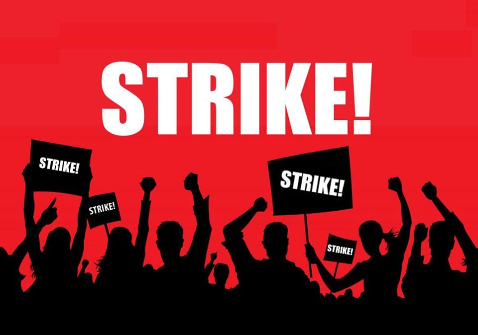 Washima JAC calls 24 hour general strike