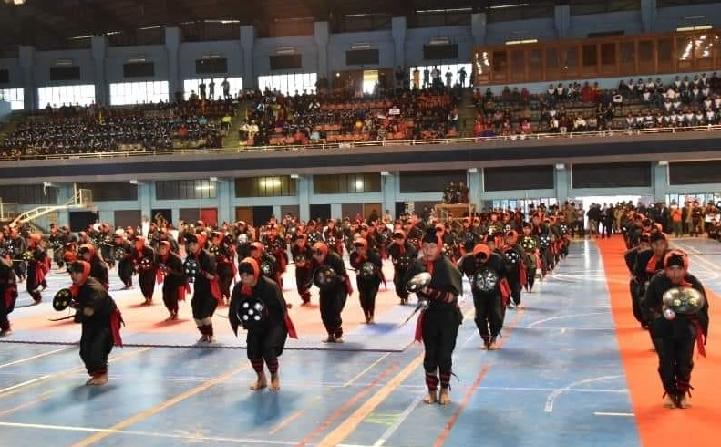 CM inaugurates the 1st Chief Minister's Indigenous Martial Arts Meet 2020