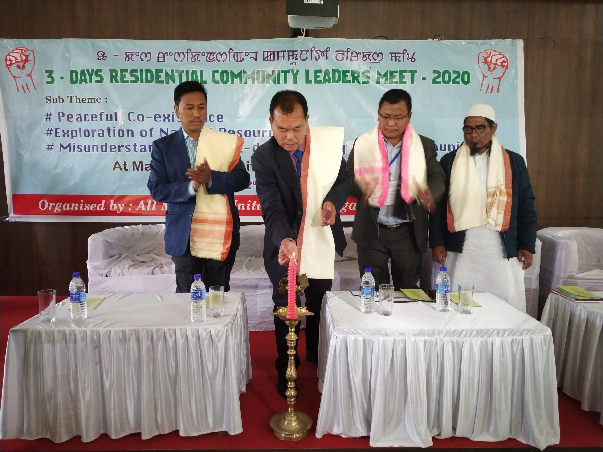 AMUCO organises all communities meet for peaceful coexistence
