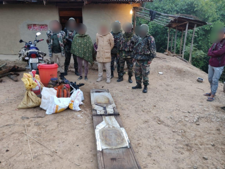 Assam Rifles busts illegal drug manufacturing unit in Thoubal district