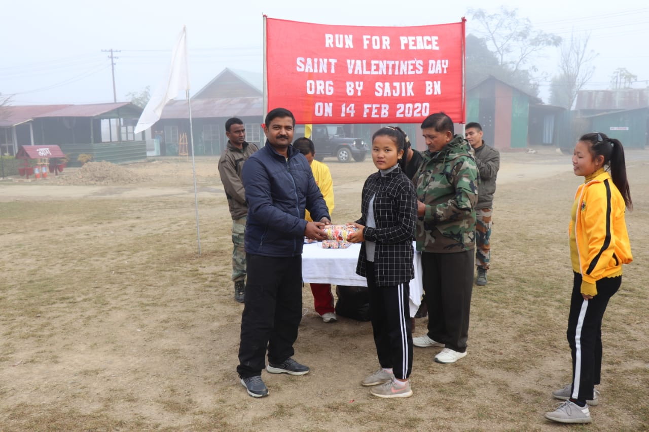 AR promotes fit India movement in Chandel