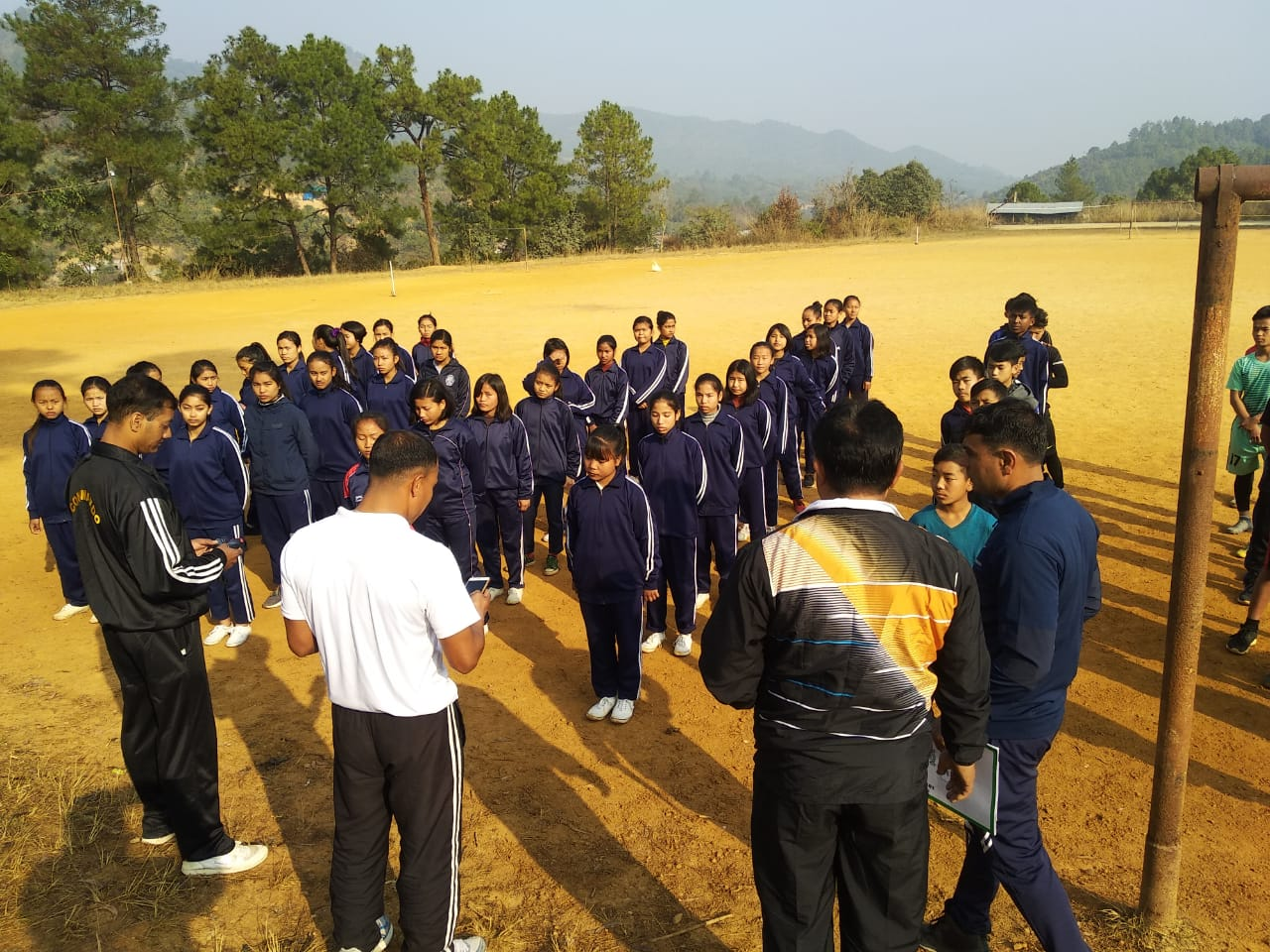 AR conducts scouting to talent
