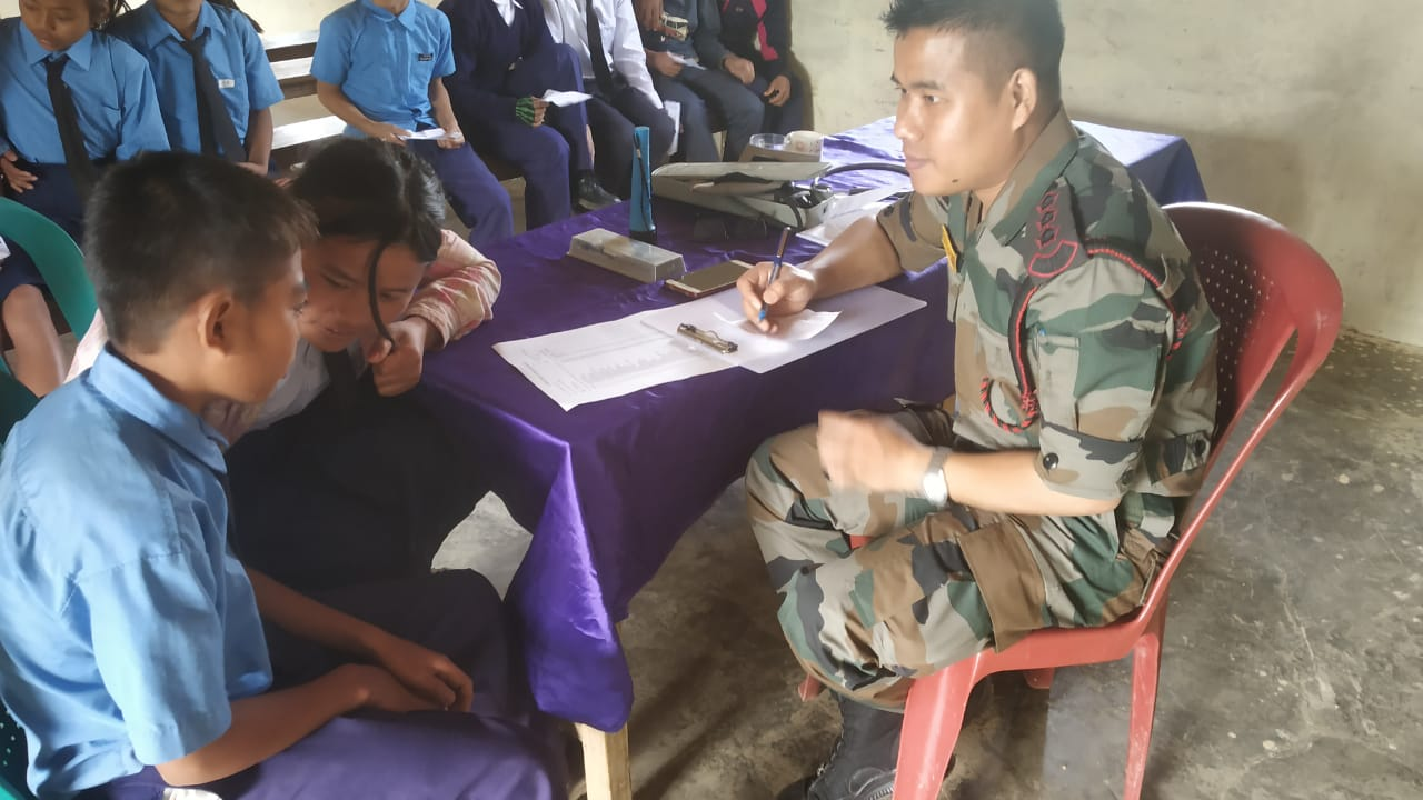 AR conducts free med check up and career counseling drive