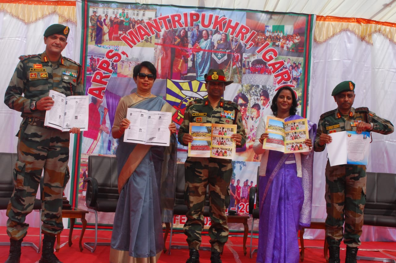 Annual Day 2020 organised at ARPS, Mantripukhri