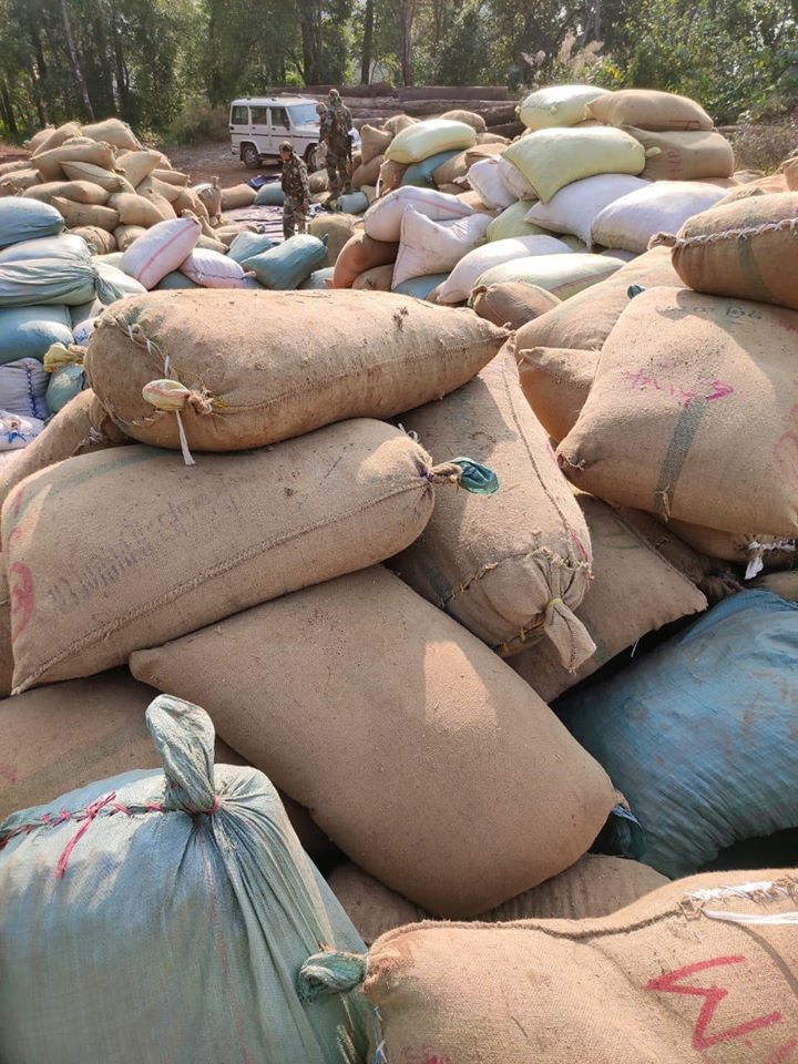 AR seizes Rs 4.9 crore worth of betel nuts and timber