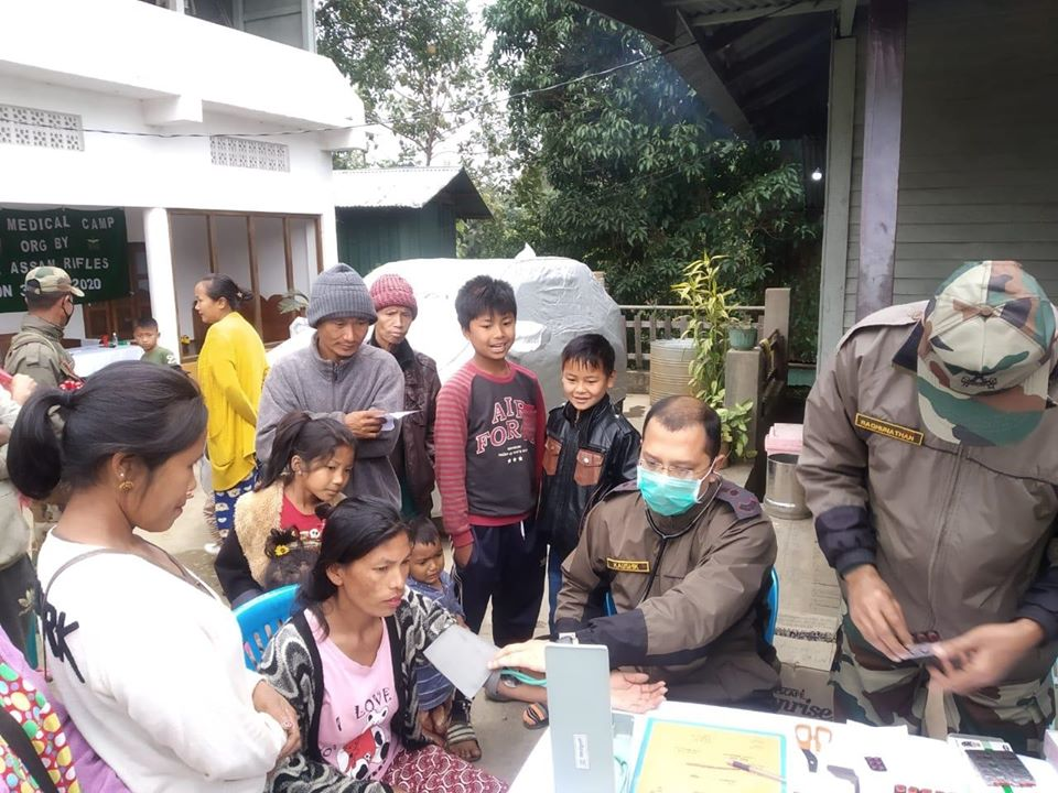 AR conducts medical camp in Tengnoupal district