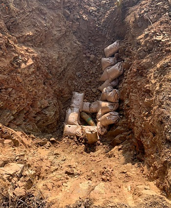 Assam Rifles disposes off two WW II Bombs