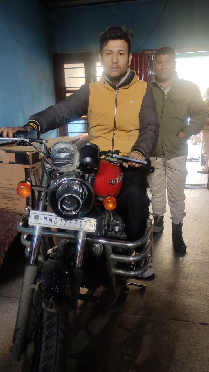 Biker Who Snatches Women Bags Arrested