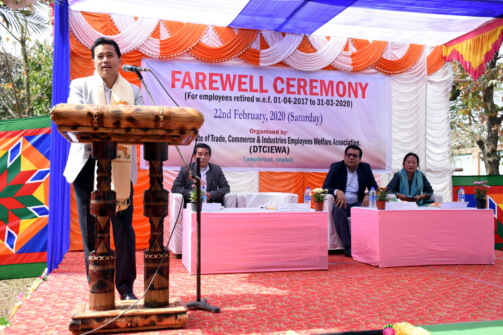 Retirement part of life: Min Biswajit at TC&I employee farewell ceremony