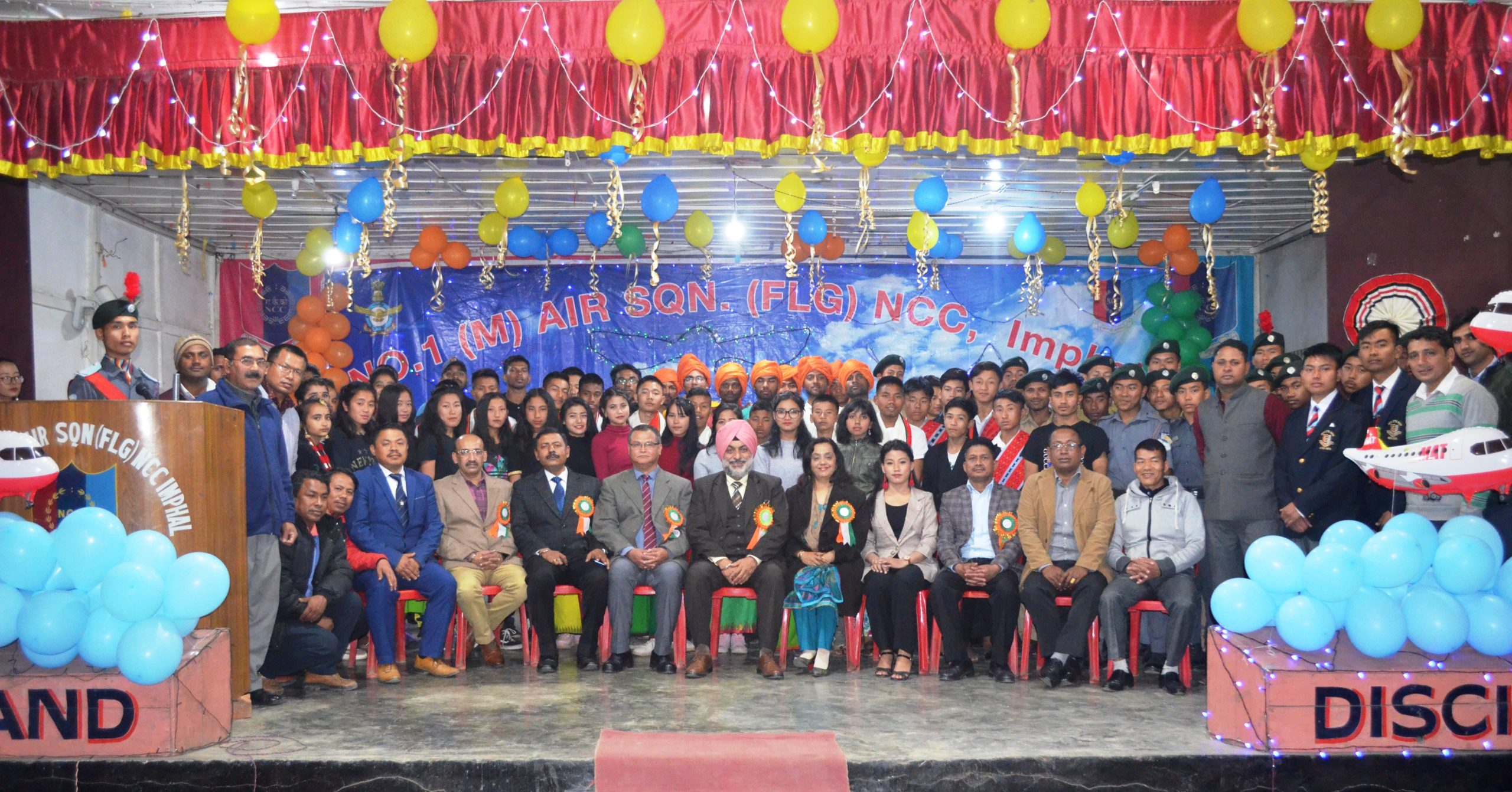 CATC-114 for Air Force and Army NCC Cadets held