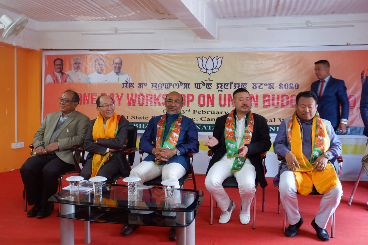 BJP only party serious of protecting indigenous people: CM