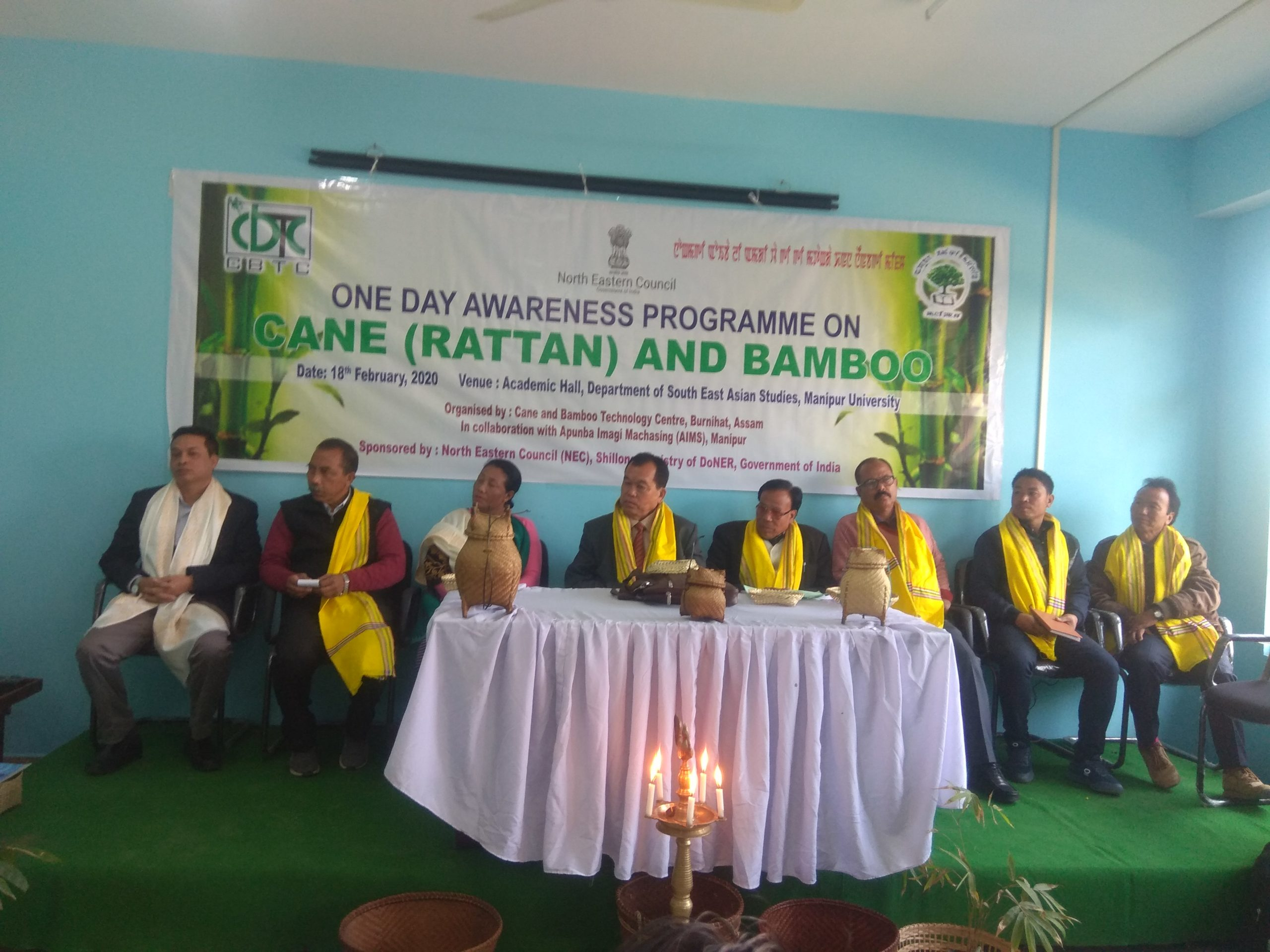 A day-long awareness programme on cane and bamboo held