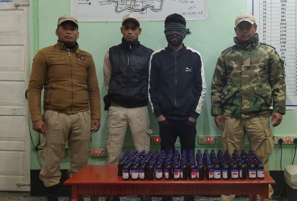 Illegal cough syrup seized