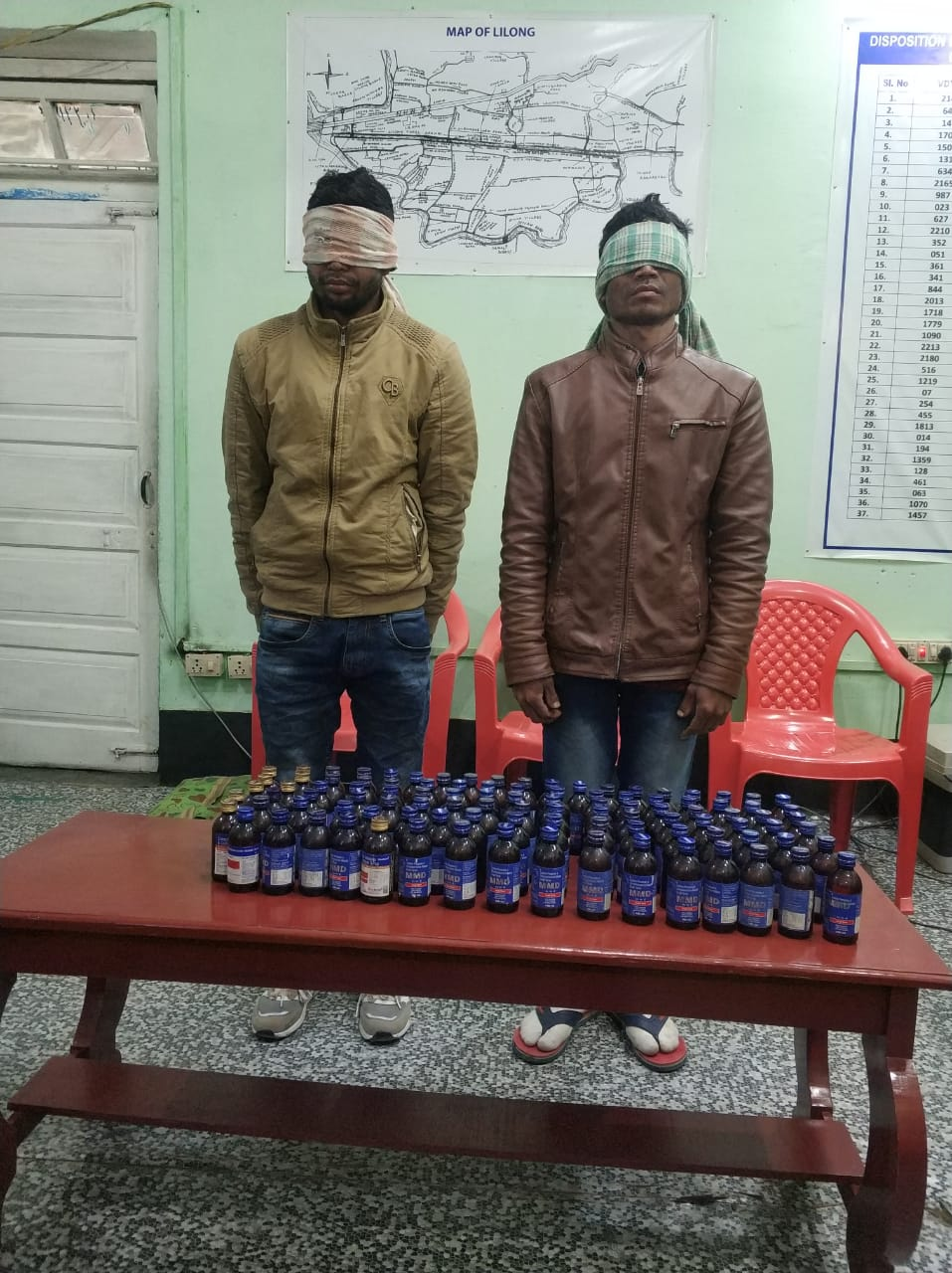 Drug Peddlers Arrested