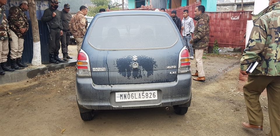 Khangabok Hit and Run Case: 4 accused held with vehicle