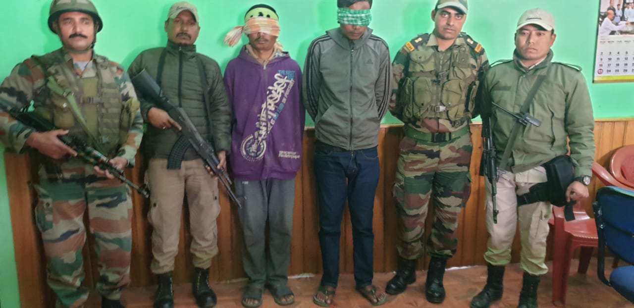 Two active KCP (PWG) members arrested
