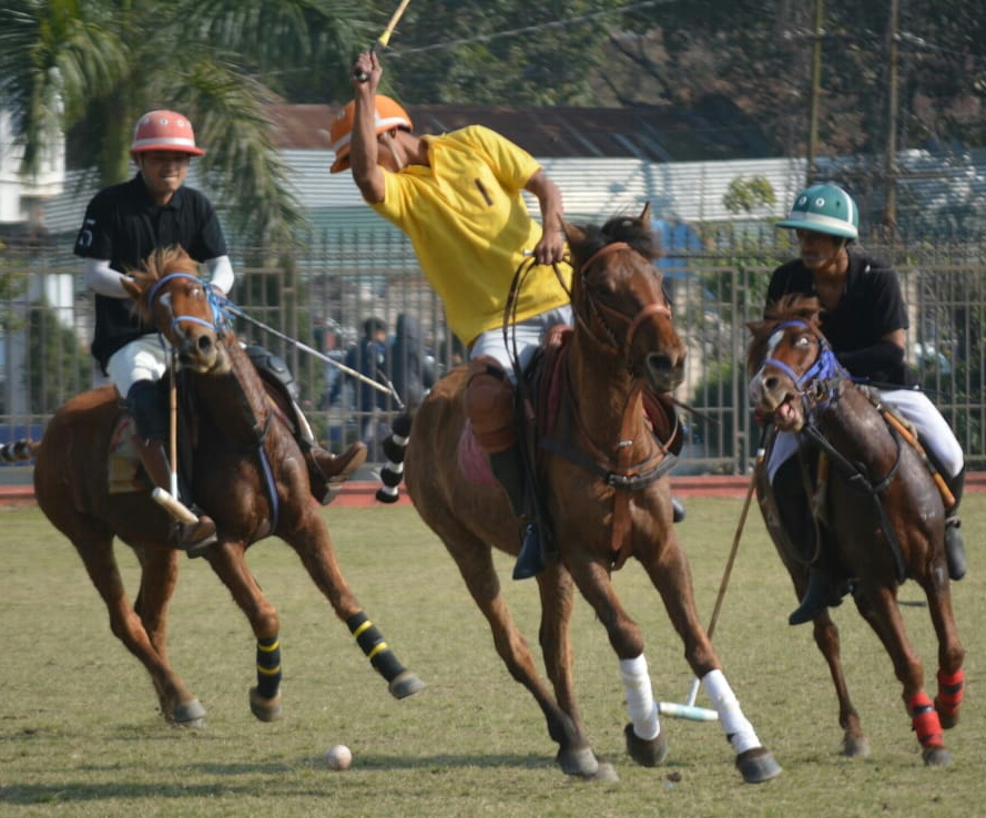 CRPF PT and TDPA enter quarterfinals of state polo tournament