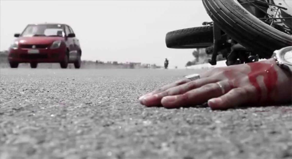 2 dead, 3 injured in road accident