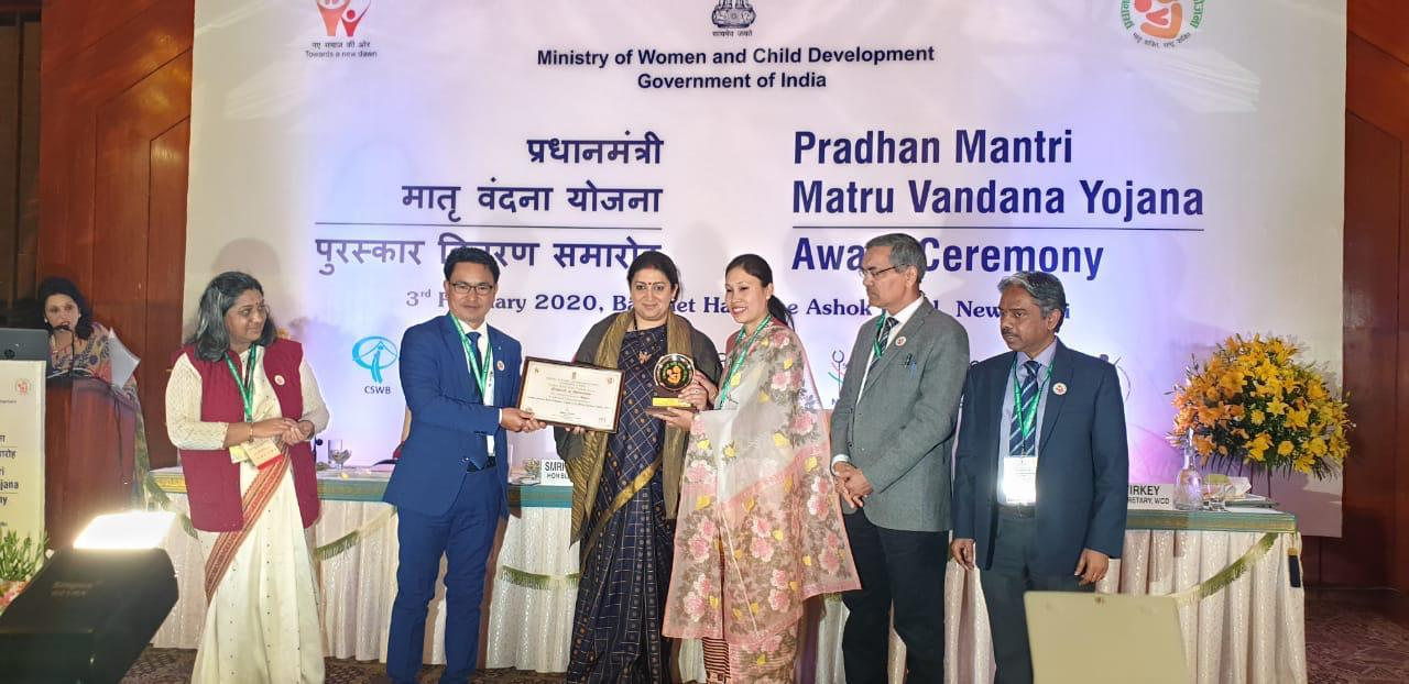 Social Welfare Dept bags 3rd position for implementation of Minister Nemcha Kipgen Lauds Concern Officials for this Feat