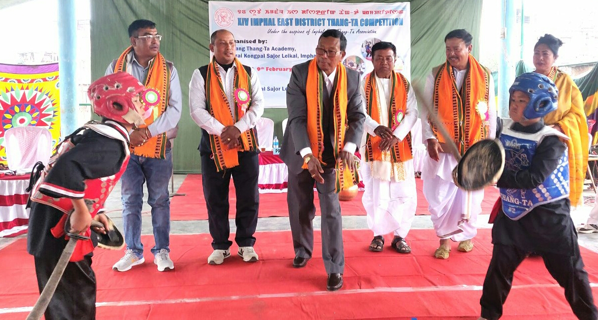 14th Imphal East District Thang-Ta Competition kicks off
