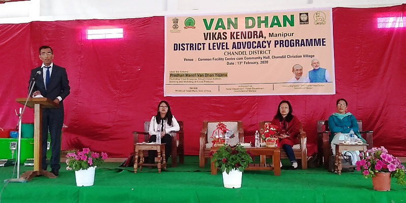 District Level Advocacy Program on Van Dhan Held