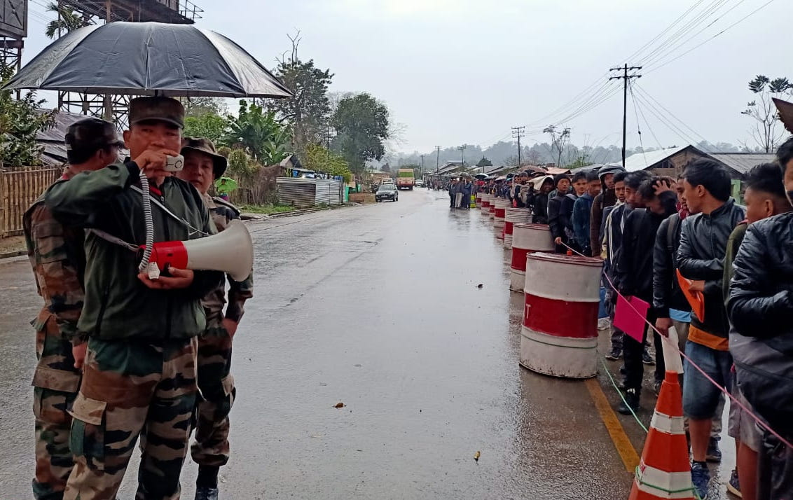 Army conducts recruitment rally in Jairampur