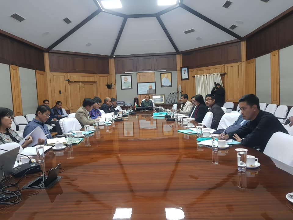 CM chairs first meeting of Manipur state bio-fuel board
