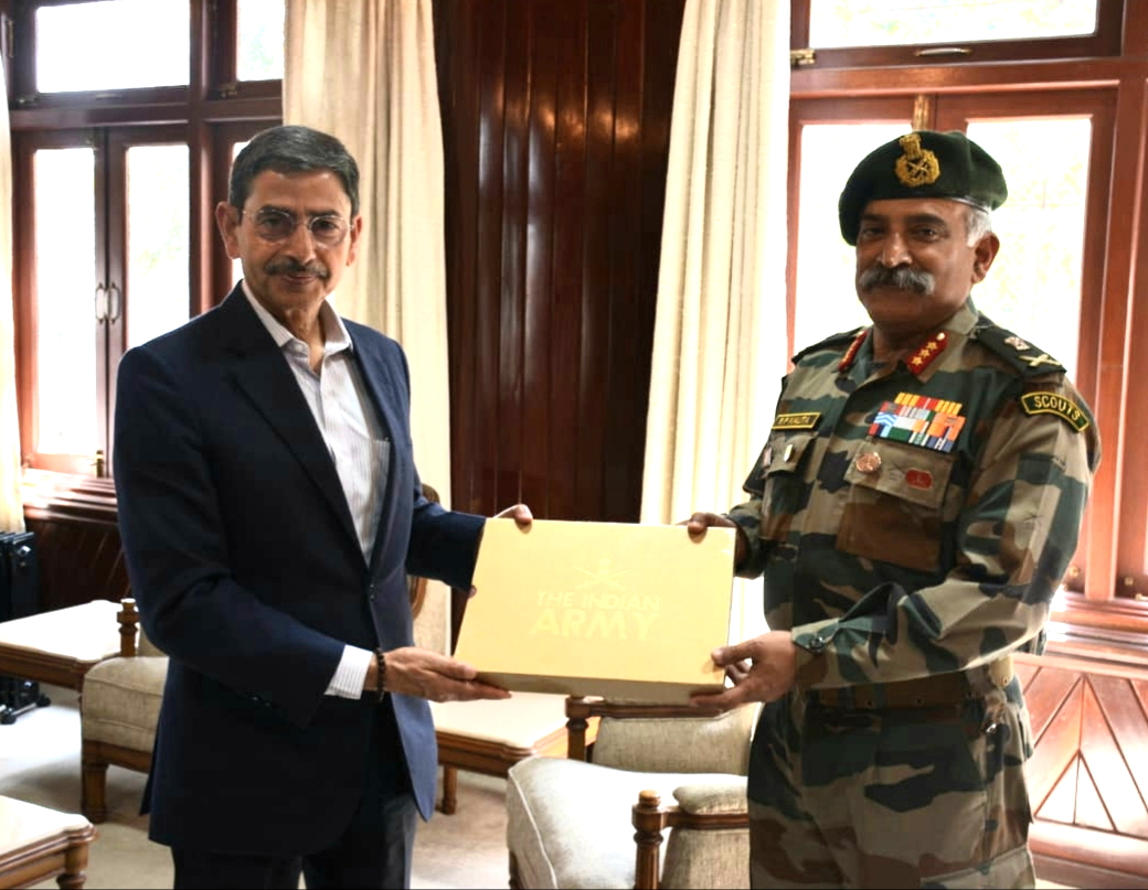 GOC Spear Corps calls on Governor of Nagaland