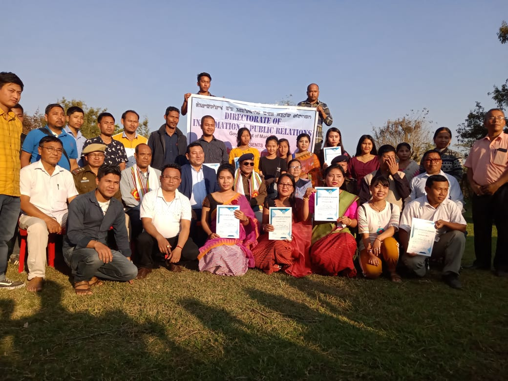 Short term courses on 'Basics of News Reporting' at Jiribam ends