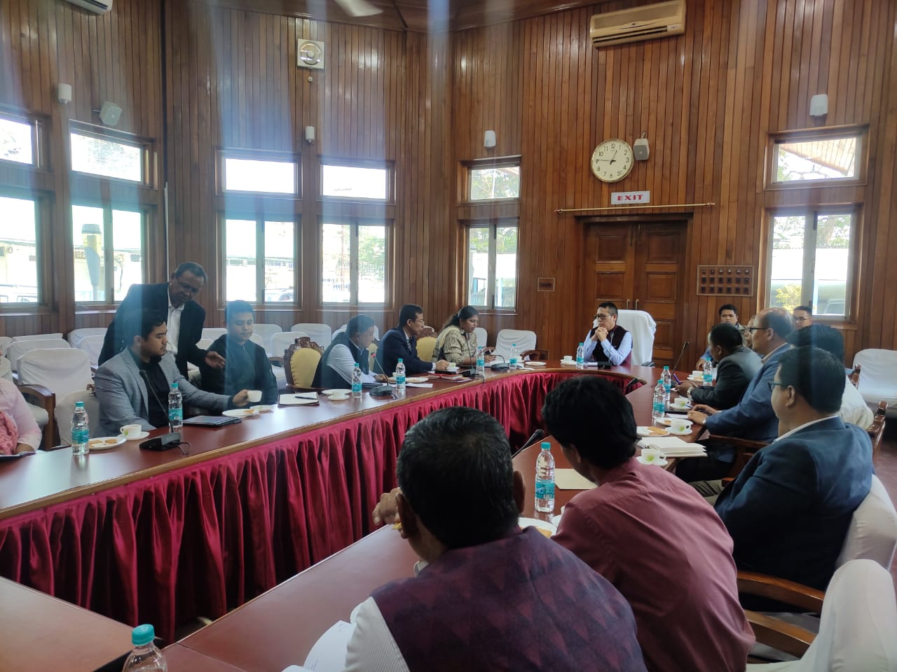 Min Letpao instructs dept engineers to highlight achievements on Amit Shah's visit