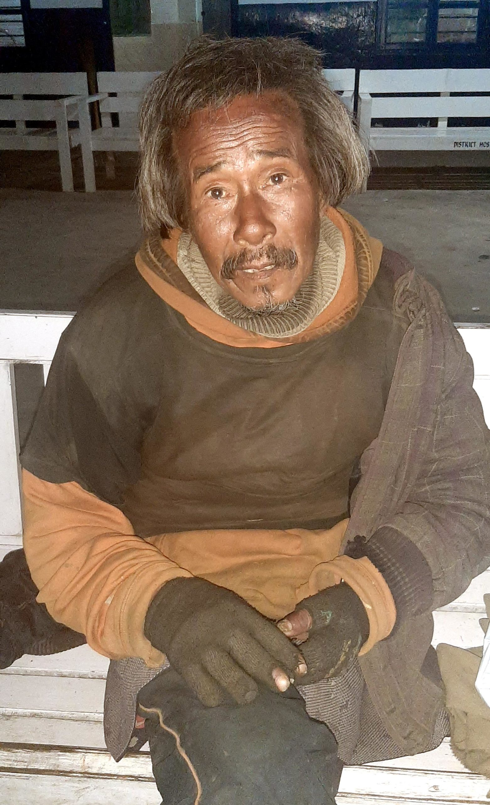 Unknown mentally unstable man found at Kangpokpi
