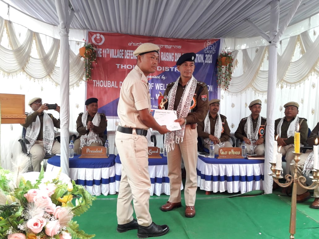 VDF 11th Rising Day Observed at Thoubal