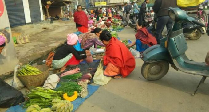 Street vendors appeal for temporary space before proper place allocation