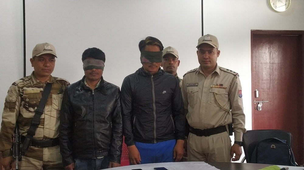 Arrested KCP- PWG chairman, associate brought to Imphal from Delhi