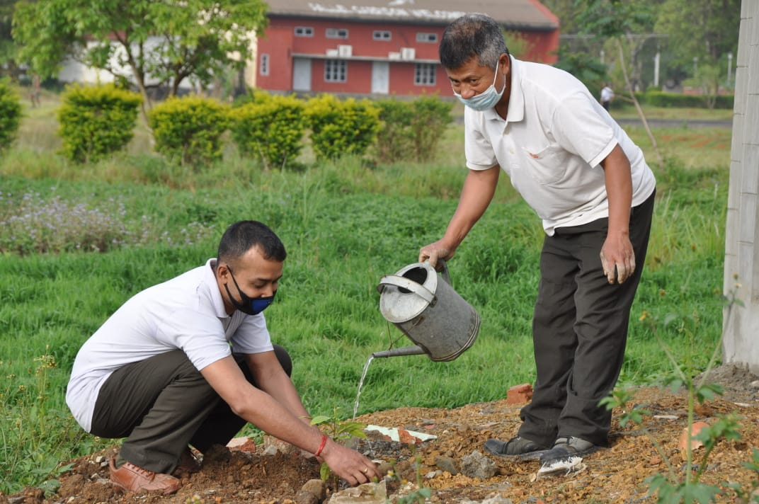 AR observed World Earth Day, 1000 saplings planted