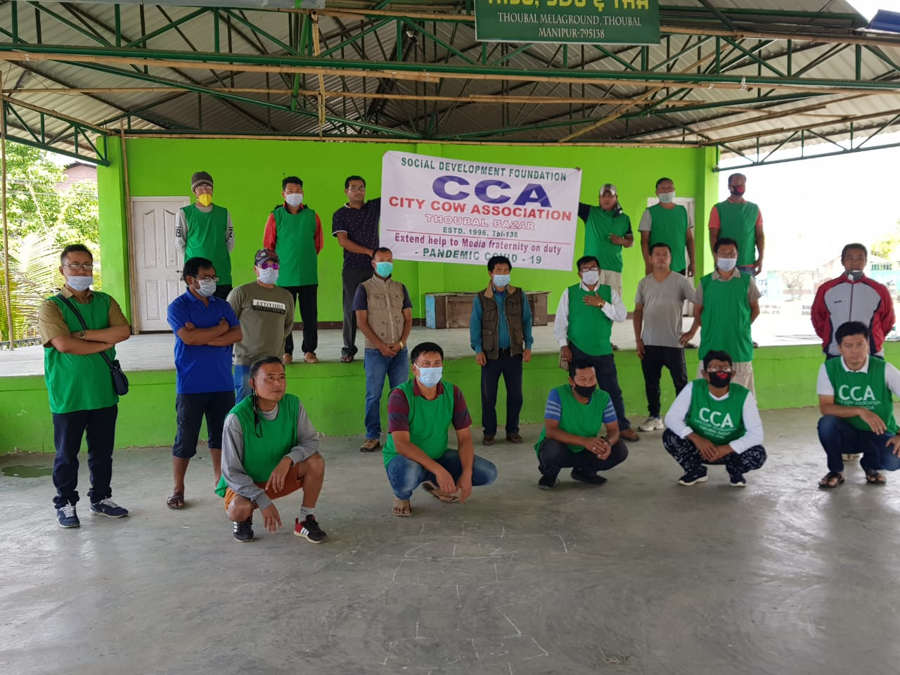 CCA extends help to media persons