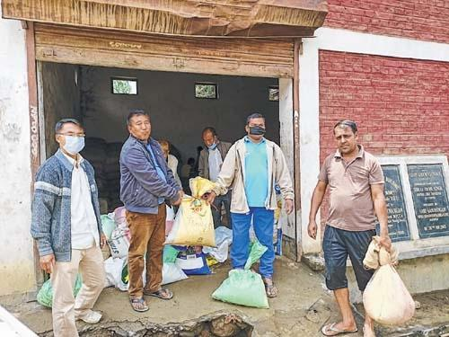 Wangkhem AC Receives Free Ration under PMGKAY