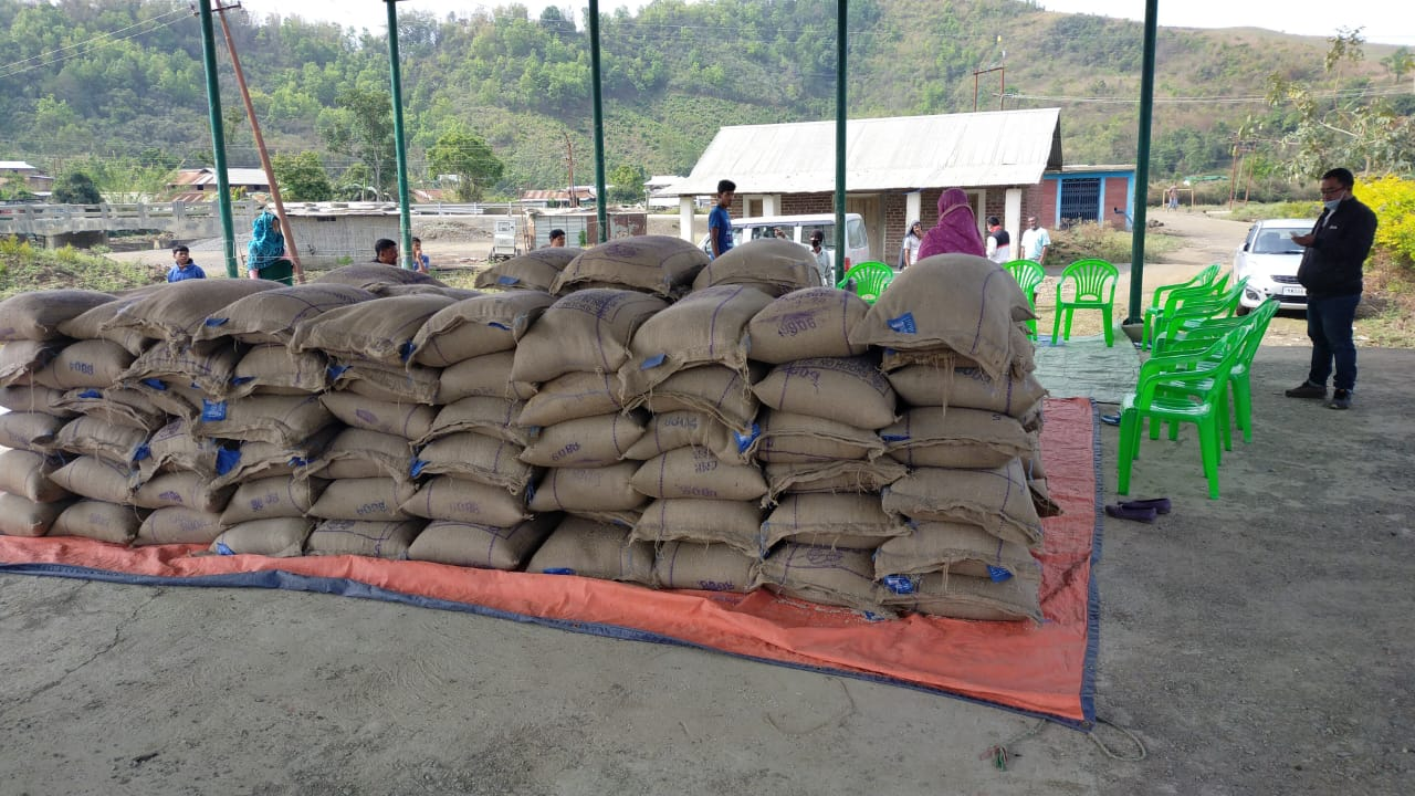 Distribution of PDS rice under PMGKAY continues in state