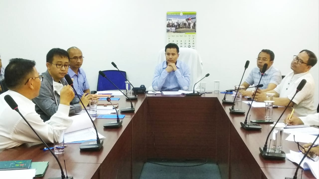 Min. Biswajit chairs PWD Prog Advisory Committee 20-21 meet; Govt to use drones to monitor work sites