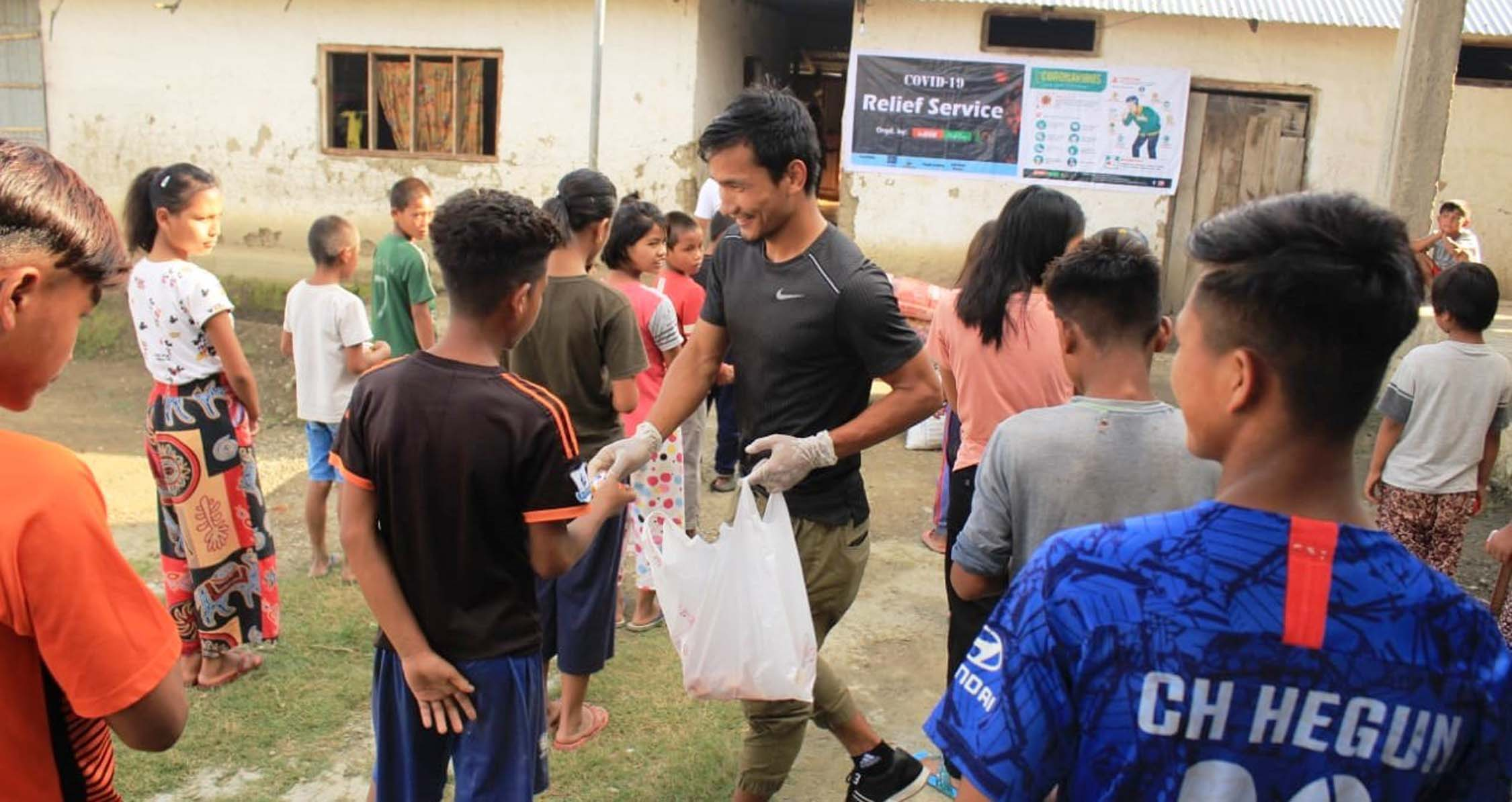 InSIDE North East, ISL player from Kpi extend help to four orphanage homes