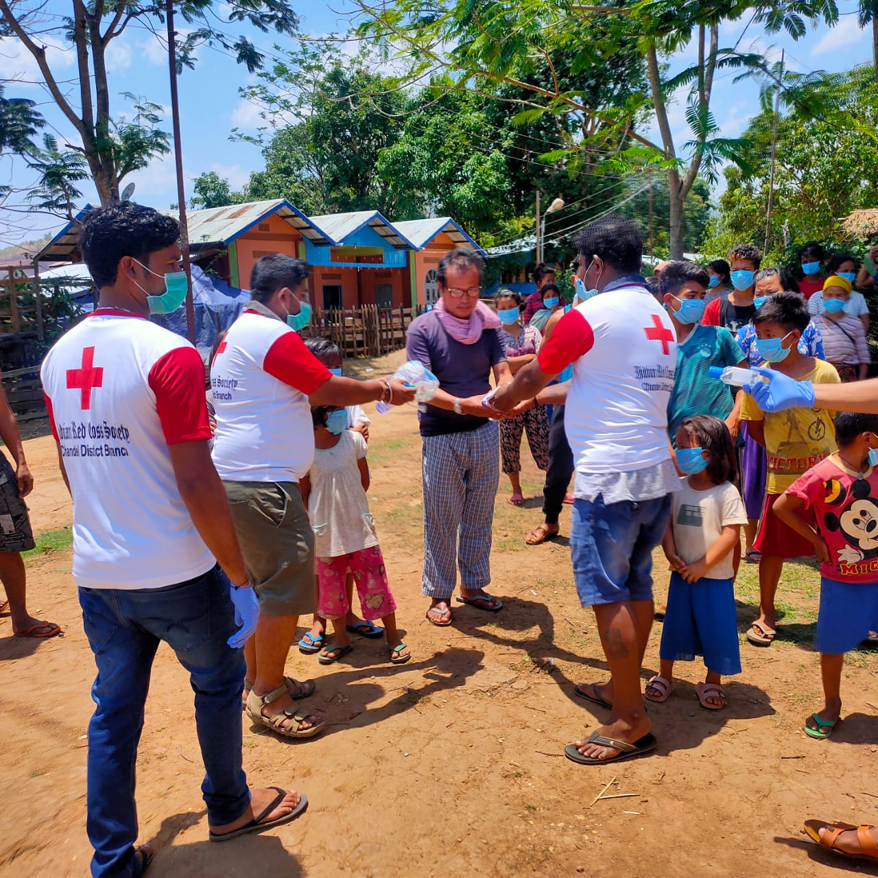 Int'l Red Cross Day observed along Indo-Myanmar border villages