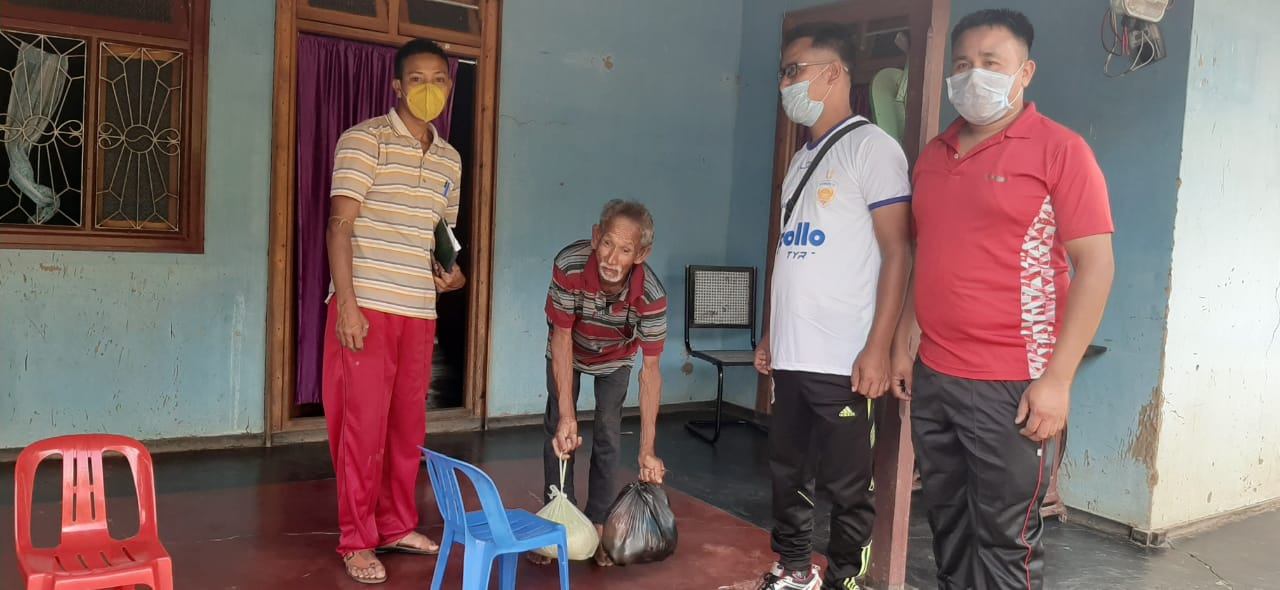 SPDPO, DDAM distribute relief materials to differently-abled persons